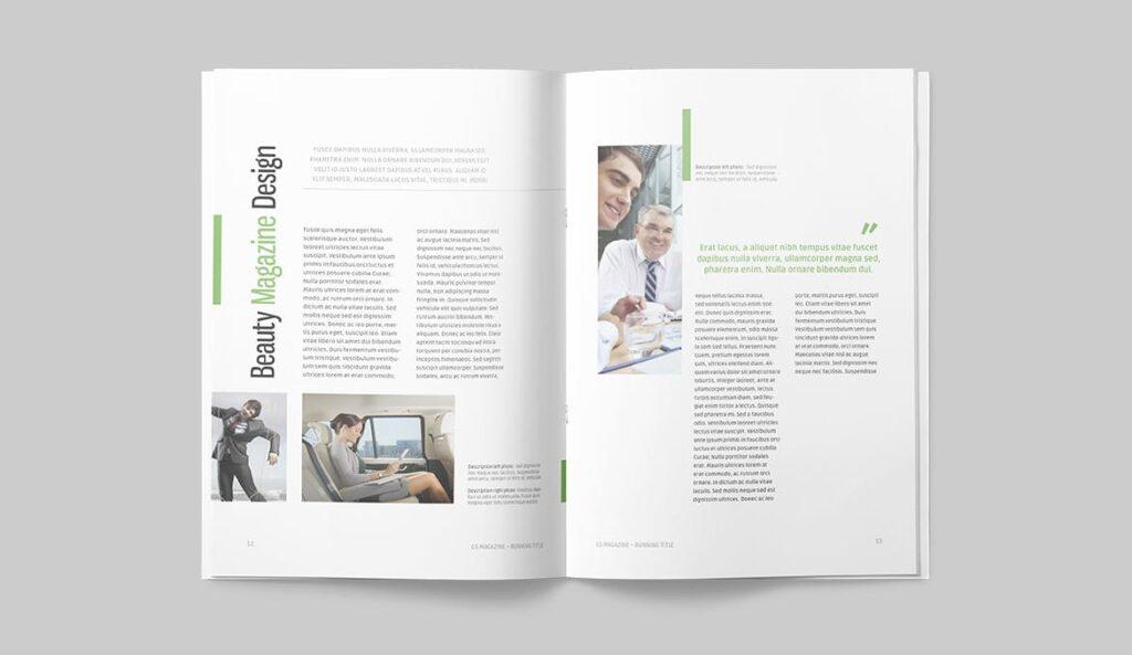 高端医学周刊/医疗咨询杂志画册模板Minimal Magazine插图(5)