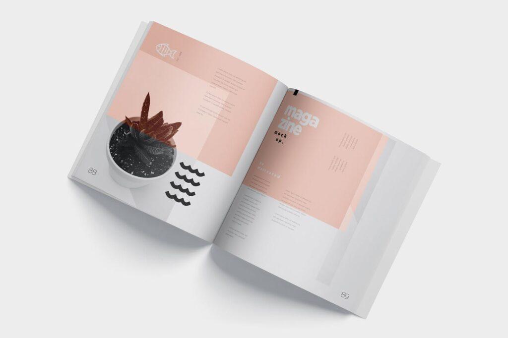 精致文艺杂志书籍封面内页样机模型下载8ydgm9u插图(5)