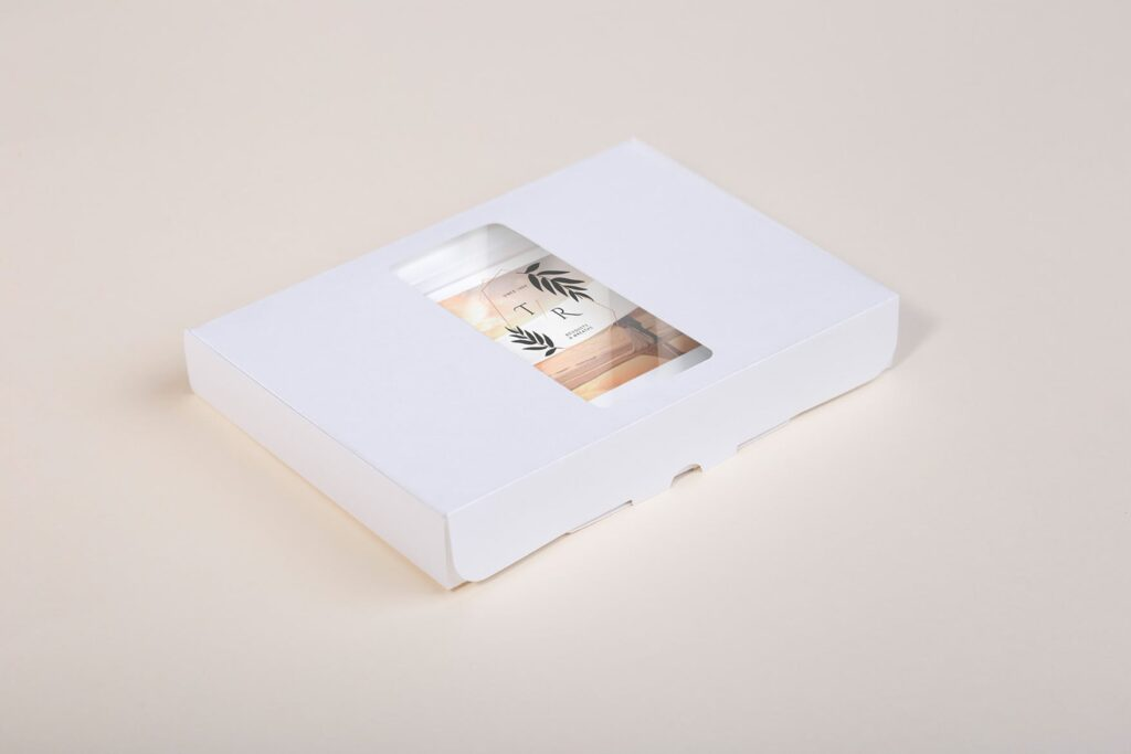 文艺精致旅游纪念相片盒模型样机Photo Box Mock Up P2FNJ8D插图(5)