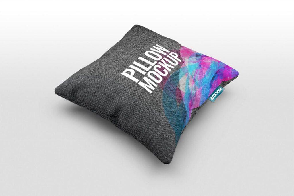 多角度抱枕样机3D模型效果图展示Pillow Mock Up Jb57q3插图(5)