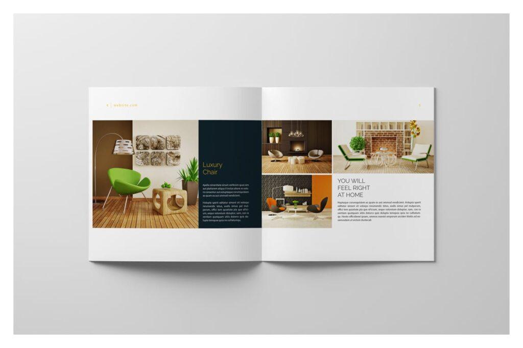 多用途目录/小册子/投资组合画册杂志模板Portfolio Brochure Catalogs插图(5)