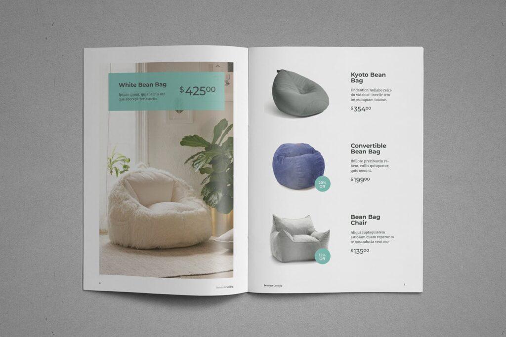 现代专业的产品目录小册子模板素材Product Catalog Brochure插图(5)