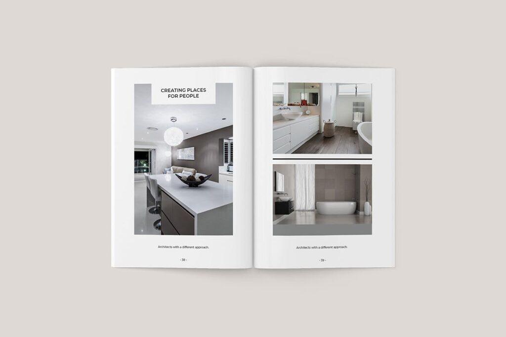 家居类企业宣传册/提案画册杂志模版Sirius Proposal Template插图(5)