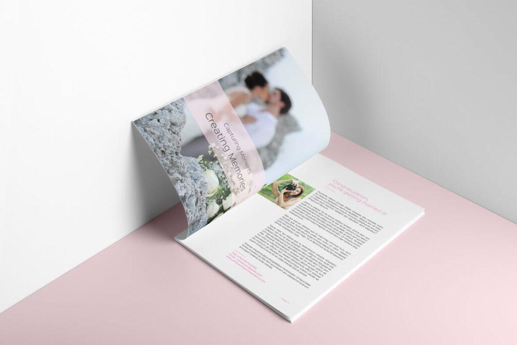 婚纱摄影价格指南/婚纱摄影工作室杂志画册模板Wedding Photography Price Guide插图(5)