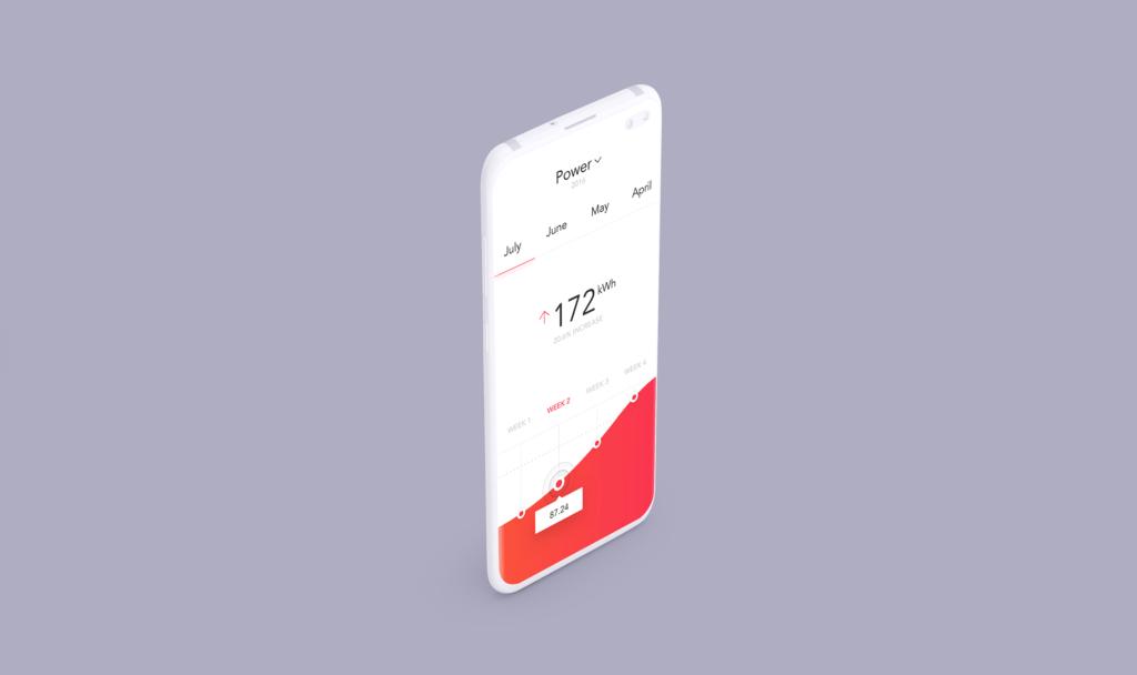 UI作品包装样机模型/三星Galaxy S10 Plus模型样机效果图Clay Mobile Mockup D97YTXQ插图(5)