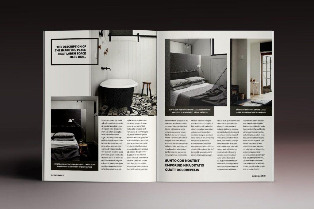 32页时代周刊画册杂志模板Des12n Magazine Indesign Template插图(5)