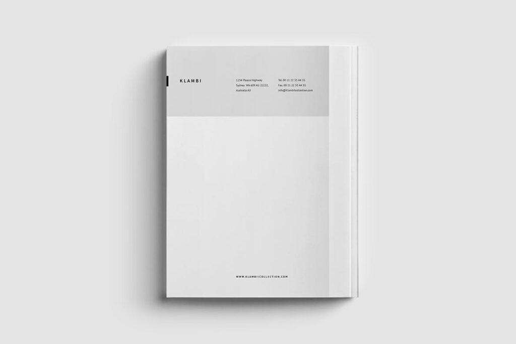 多用途商务手册企业画册模版素材Fashion Proposal插图(6)