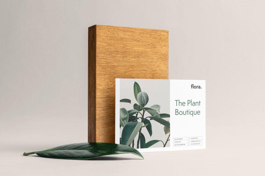 优雅的品牌VI样机模型样机下载Flora Branding Mockup Vol1插图(6)