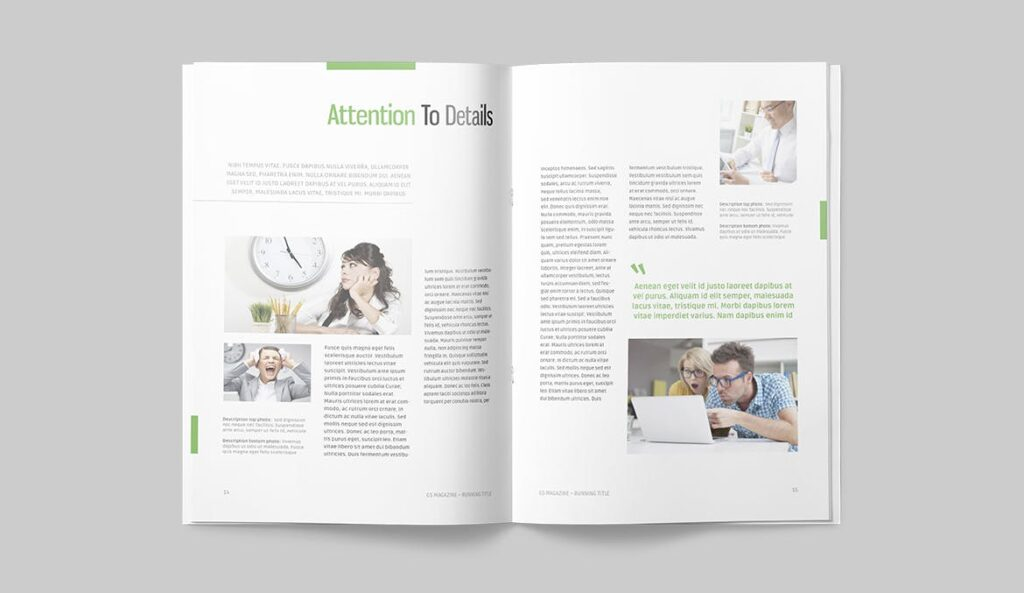 高端医学周刊/医疗咨询杂志画册模板Minimal Magazine插图(6)