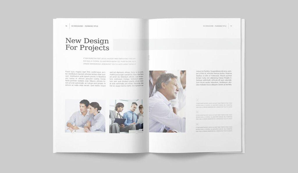 企业商务多用途/企业规划手册模板Magazine Template插图(6)