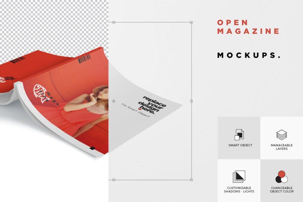 精致文艺杂志书籍封面内页样机模型下载8ydgm9u插图(6)