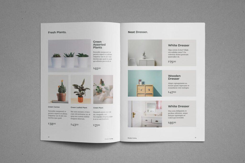 现代专业的产品目录小册子模板素材Product Catalog Brochure插图(6)