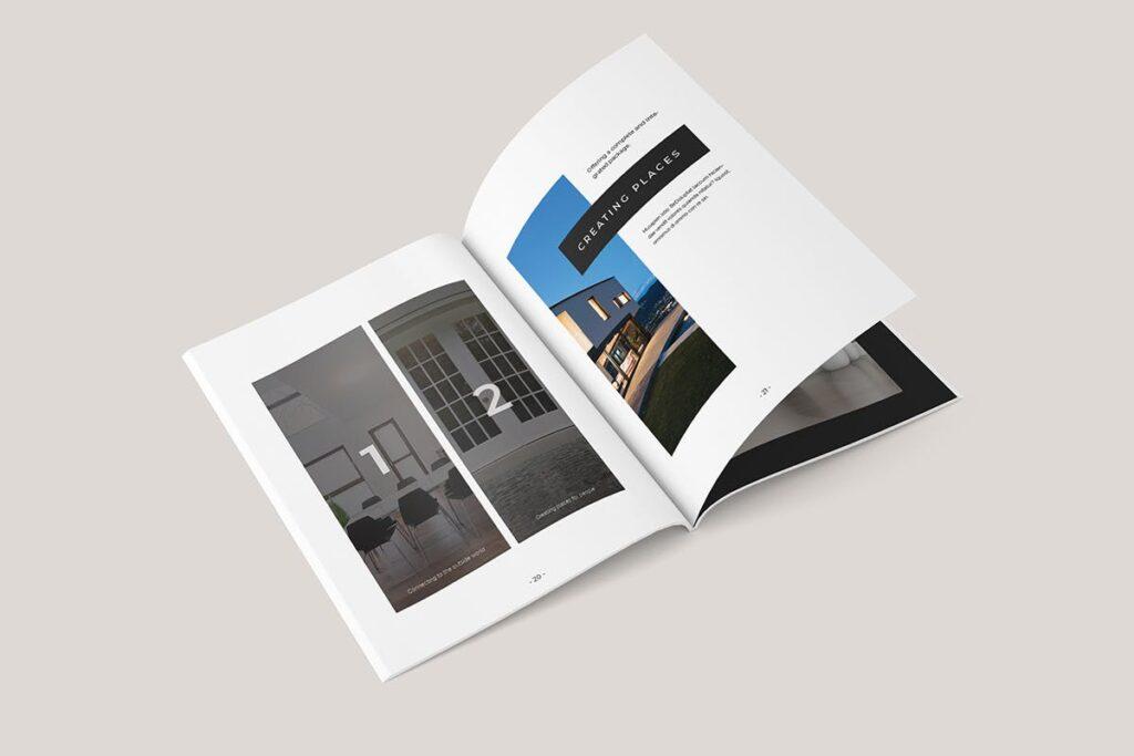 家居类企业宣传册/提案画册杂志模版Sirius Proposal Template插图(6)