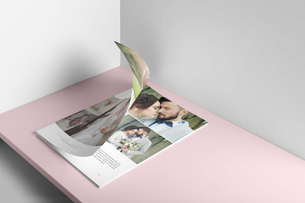 婚纱摄影价格指南/婚纱摄影工作室杂志画册模板Wedding Photography Price Guide插图(6)