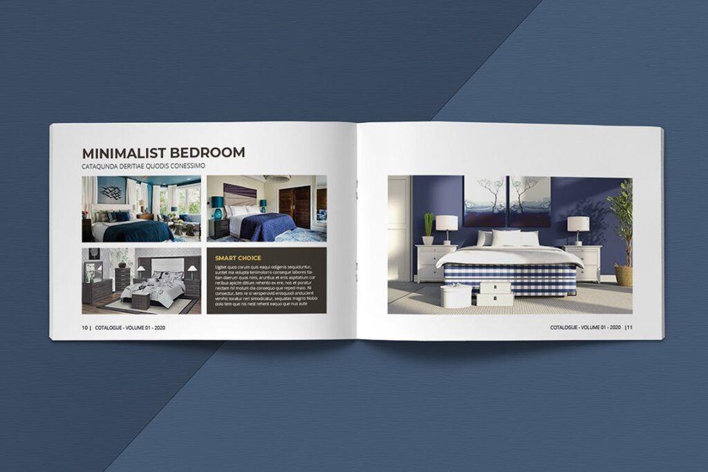 横版家居室内设计画册杂志模版A5 Interior Catalogue ASFEWQ插图(7)