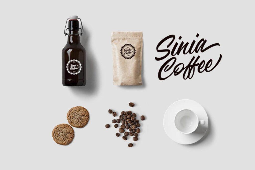 咖啡品牌包装书法风格英文字体下载Adelaide Font插图(6)