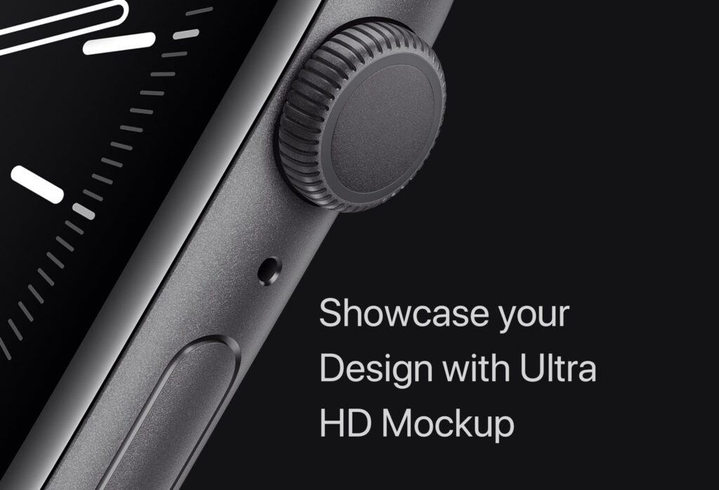 苹果手表系列5展示效果图样机模型下载Apple Watch Mockup Series 5插图(7)