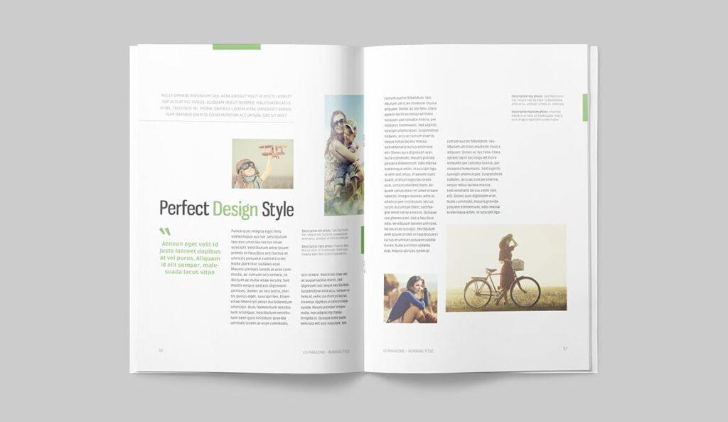 高端医学周刊/医疗咨询杂志画册模板Minimal Magazine插图(7)