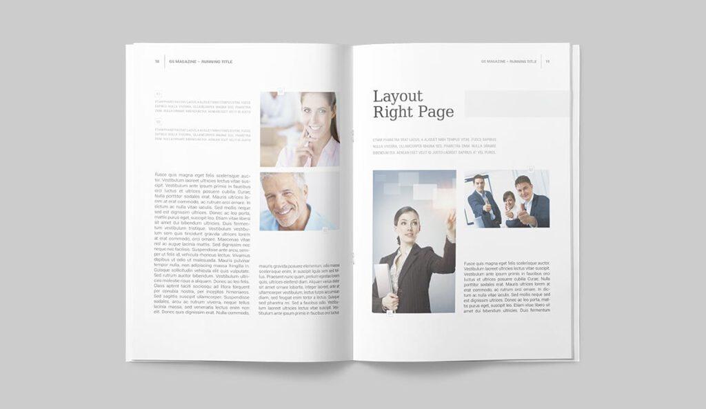 企业商务多用途/企业规划手册模板Magazine Template插图(7)