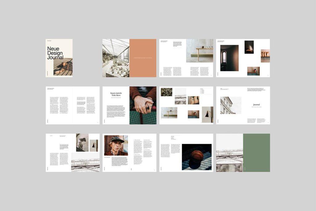 企业多用途业务介绍画册模板Neue Magazine插图(6)