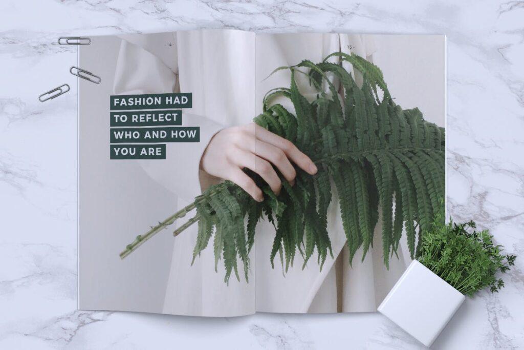 简约企业商务小册子目录/多用途画册模板PLUMERY Minimal Magazines插图(7)