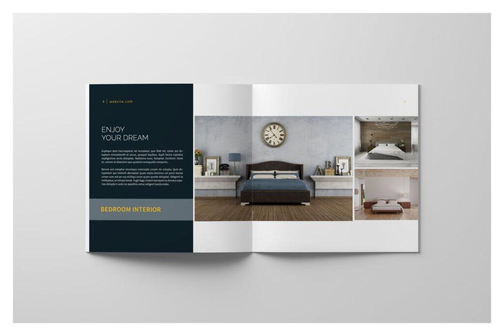 多用途目录/小册子/投资组合画册杂志模板Portfolio Brochure Catalogs插图(6)