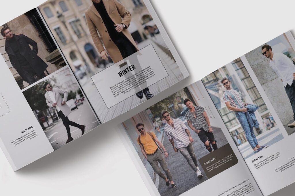 潮流男士服装品牌杂志模版The Mens Lookbook Magazine插图(7)