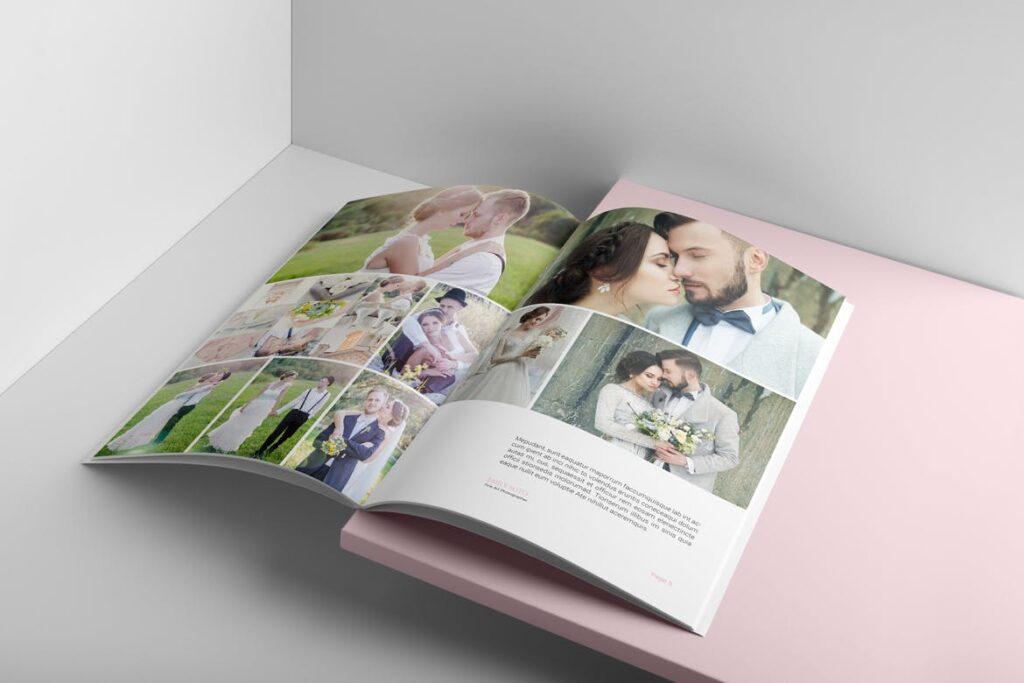 婚纱摄影价格指南/婚纱摄影工作室杂志画册模板Wedding Photography Price Guide插图(7)