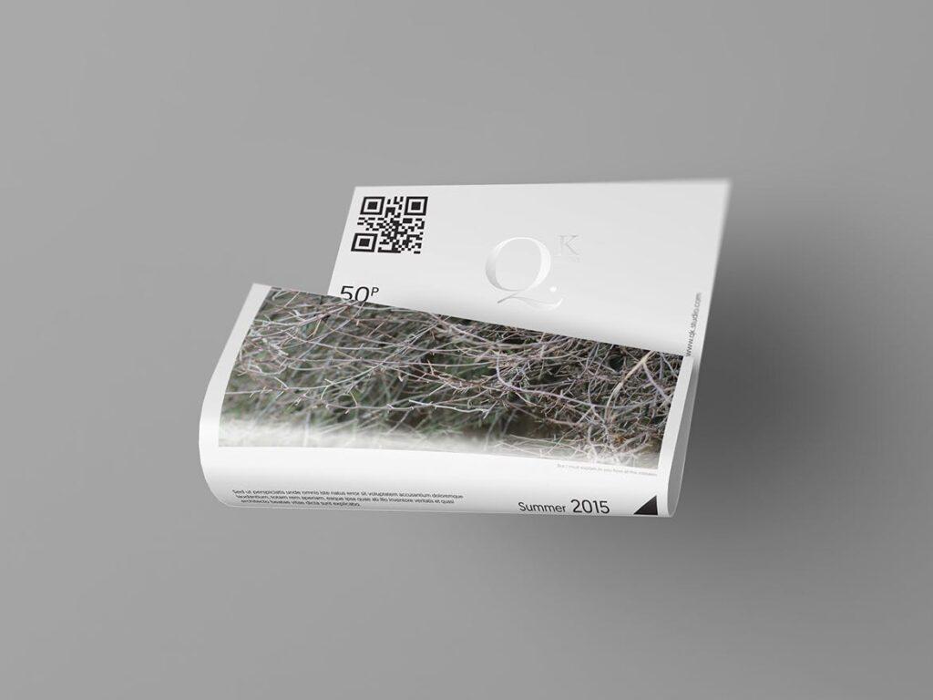 企业传单宣传册模型素材样机下载A4 A5 Poster Flyer Mockups V4插图(7)