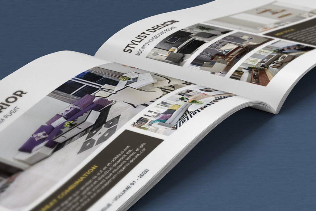 横版家居室内设计画册杂志模版A5 Interior Catalogue ASFEWQ插图(8)