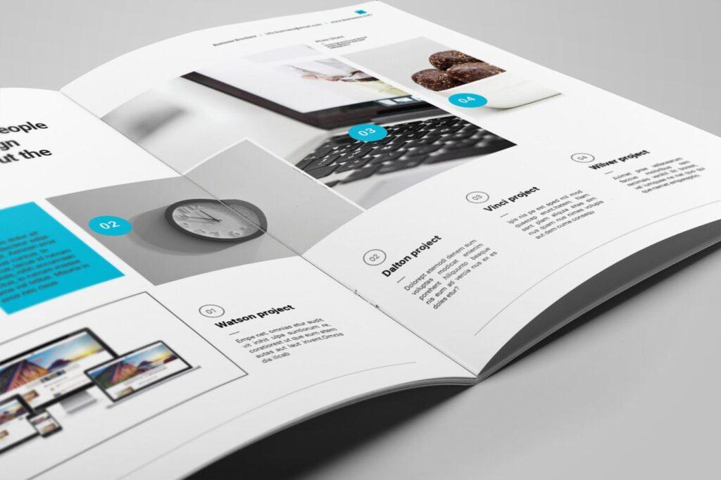企业简介商务手册历史介绍杂志画册模板Business Profile插图(8)
