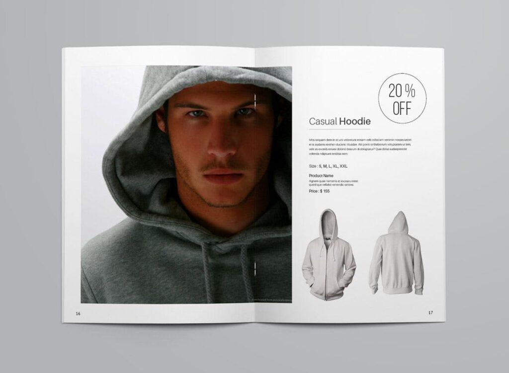 女性时尚用品产品目录画册模板InDesign Product Catalogue Template插图(8)