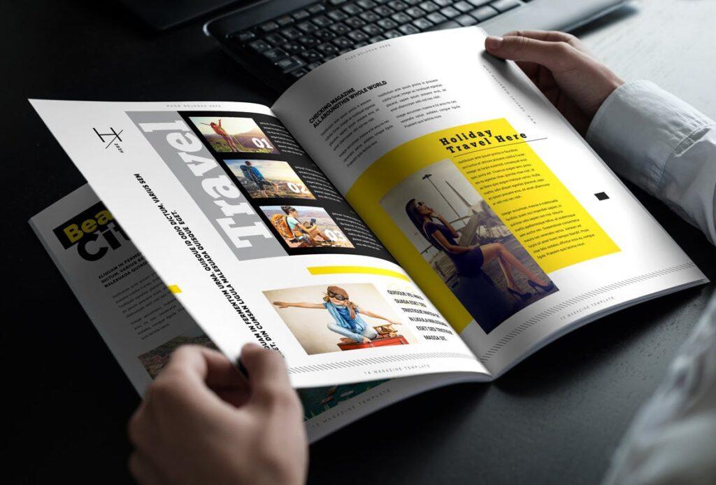 健身运动主题周刊杂志模板/Magazine插图(8)