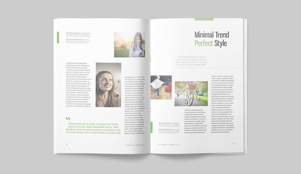 高端医学周刊/医疗咨询杂志画册模板Minimal Magazine插图(8)