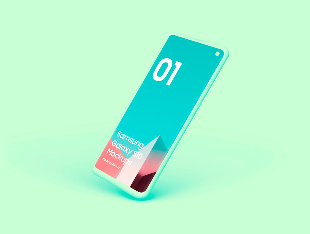三星手机多角种透视角度样机模板素材下载PREVIEW插图(7)