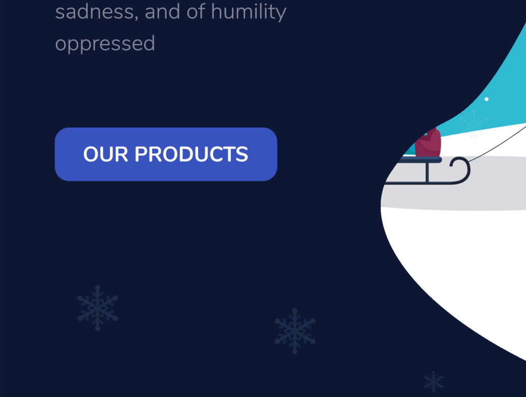 网站banner插图/冬日滑雪矢量插画素材TunTun Startup Website Page插图(12)