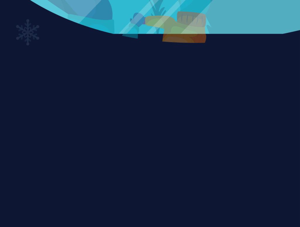 网站banner插图/冬日滑雪矢量插画素材TunTun Startup Website Page插图(5)