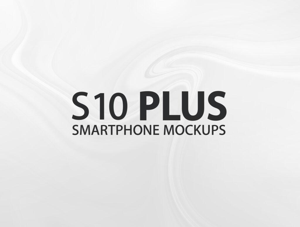 三星智能手机模板样机素材下载YDLabs S10 Plus Mockups插图(6)