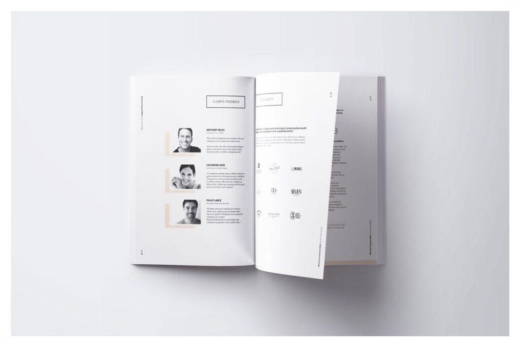 A4尺寸企业项目提案画册模板素材Proposal 005插图(5)