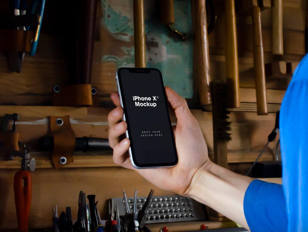 iPhone XR原型模板样机素材下载7 iPhone XR Mockups插图(7)