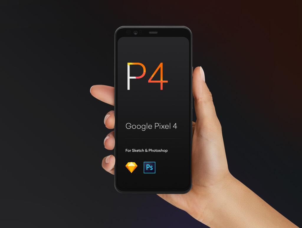 三星苹果谷歌手机样机手持手机样机素材下载Hand Mockups iPhone 11, S10, Pixel 4插图(3)