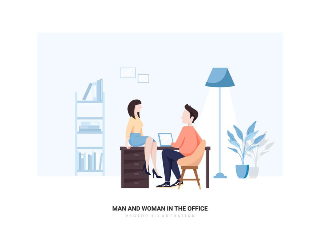 企业市场宣讲矢量扁平插画素材Libra – Business Illustration Pack插图(11)