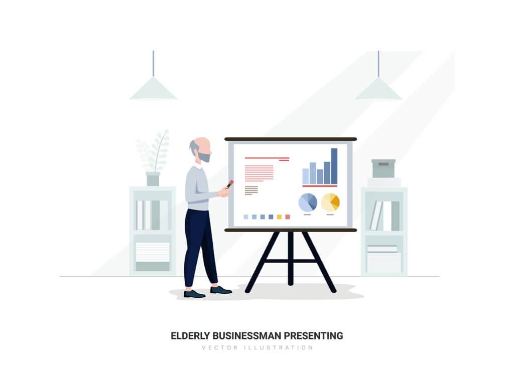 企业市场宣讲矢量扁平插画素材Libra – Business Illustration Pack插图(12)