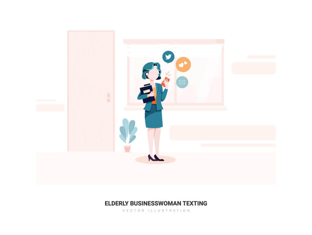 企业市场宣讲矢量扁平插画素材Libra – Business Illustration Pack插图(4)