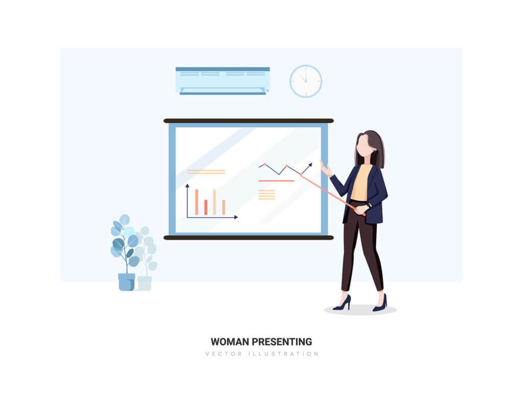 企业市场宣讲矢量扁平插画素材Libra – Business Illustration Pack插图(5)