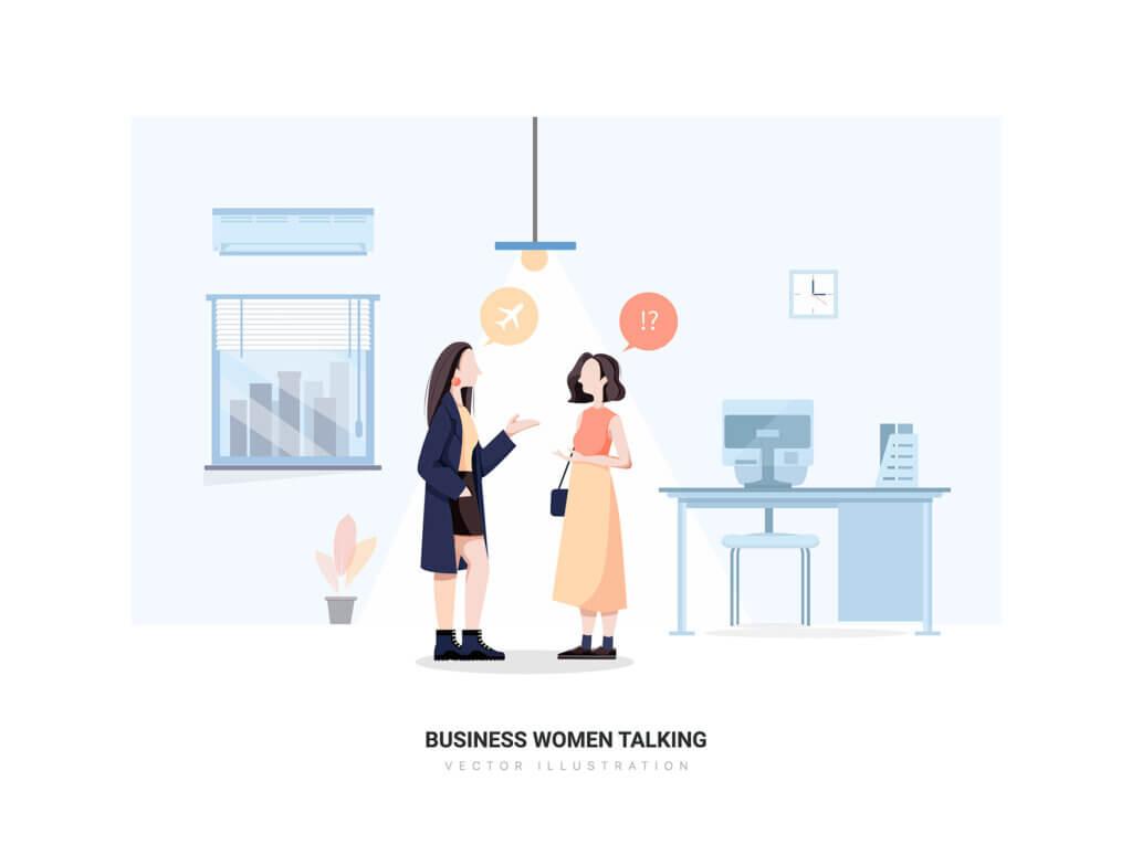 企业市场宣讲矢量扁平插画素材Libra – Business Illustration Pack插图(10)