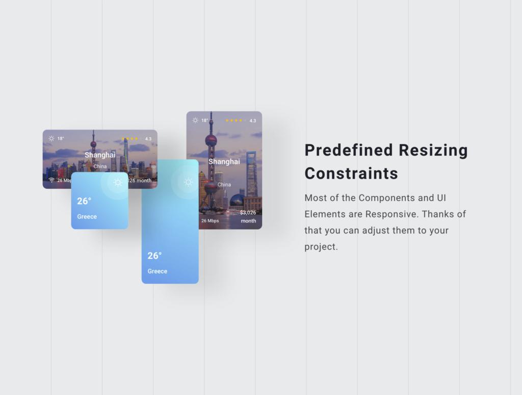 旅行类概念主题UI界面设计套件素材Nomad iOS UI Kit插图(7)