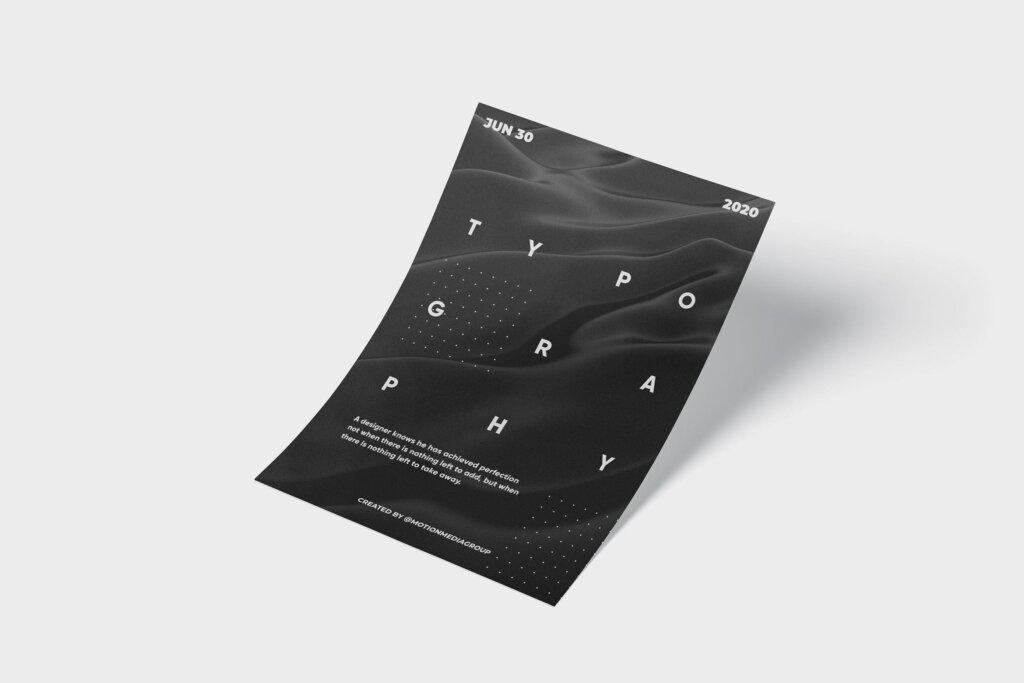 科技粒子发布会新产品发布会海报传单海报模板NSCT28G插图