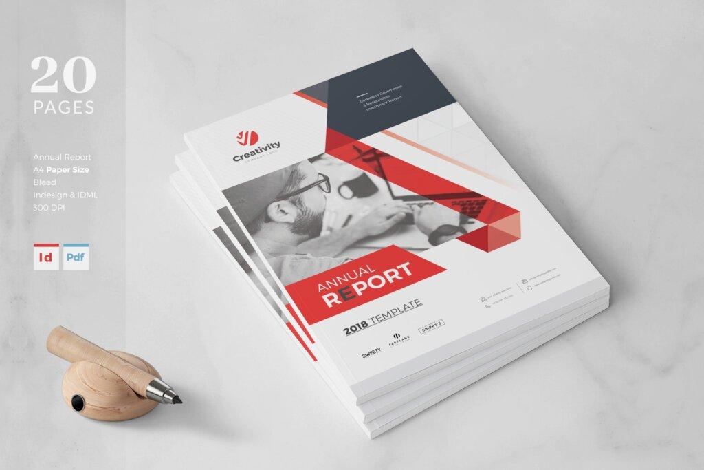 企业文化手册产品介绍手册模板素材下载AZT54D插图