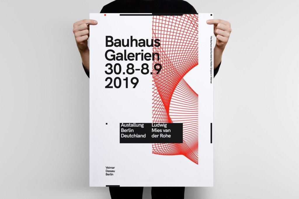 几何粒子线条用户体验大会海报传单模板素材下载Austallung Poster Template插图